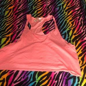H&M Pink Active Fitness Sports  Tank Top Large